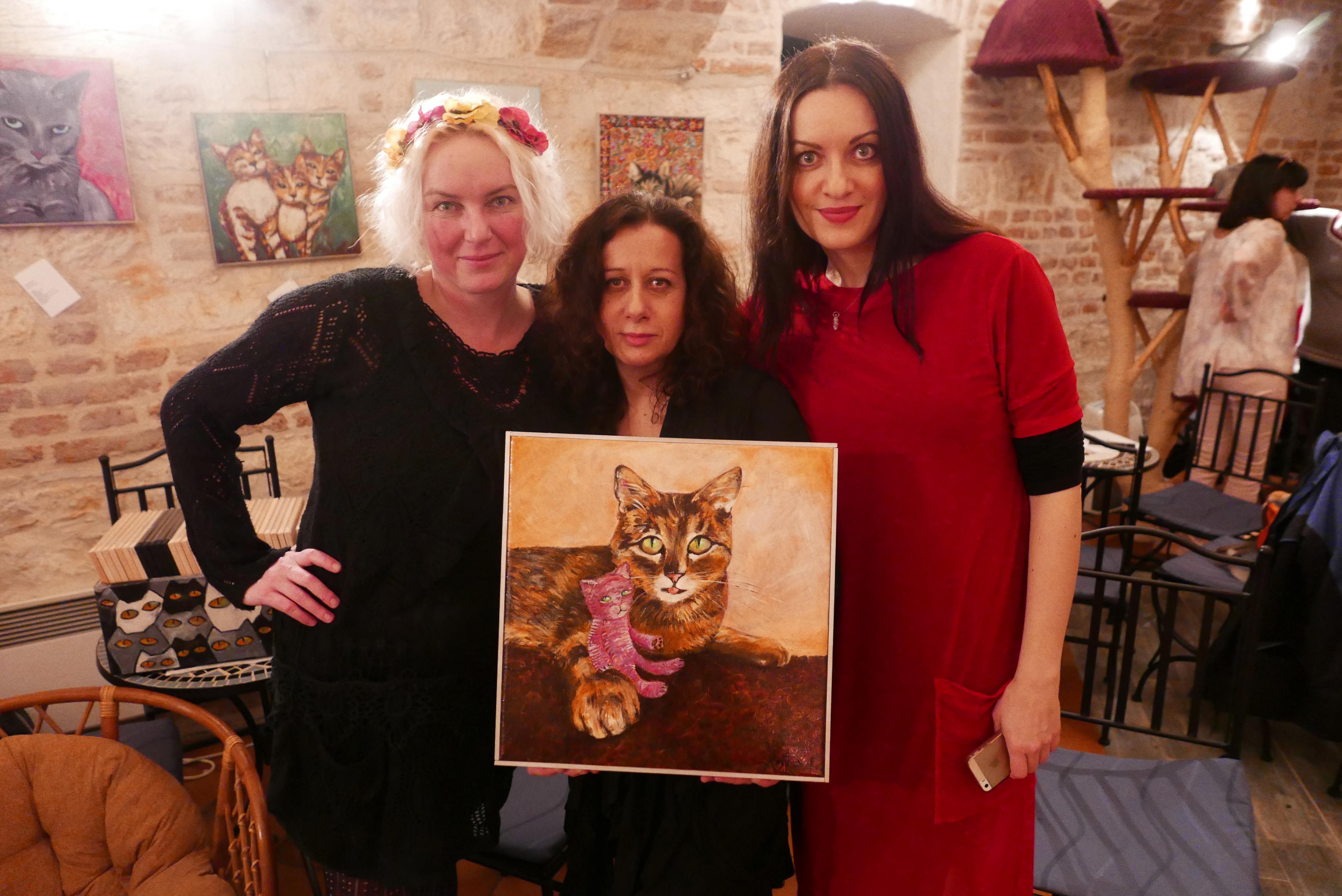 Romanu Štrynclovou čeká vPraze jubilejní 10.aukce kočičího obrazu