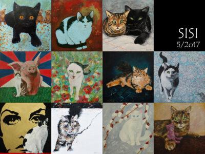Kočka Sisinka otevírá druhou desítku aukčních obrazů